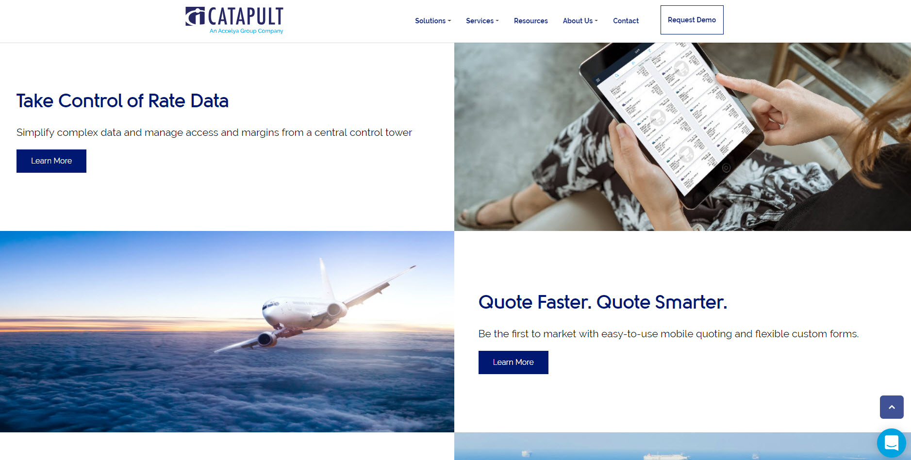 Catapult International Website